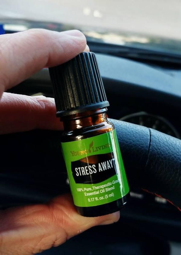 stress away, essential oils, young living, wellness, stress
